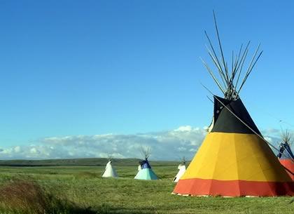 indianer-reisen tipis
