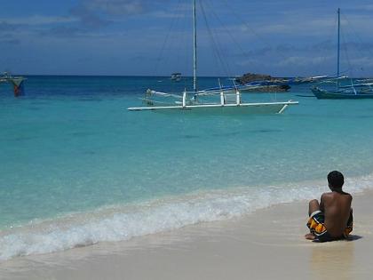 Strand, Insel Boracay, Philippinen